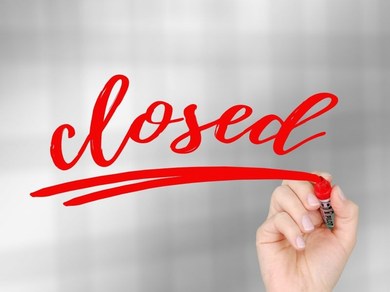 We are closed on Thursday May 21, Friday May 22 and Monday June 1 due to Ascension Day and Pentecost.