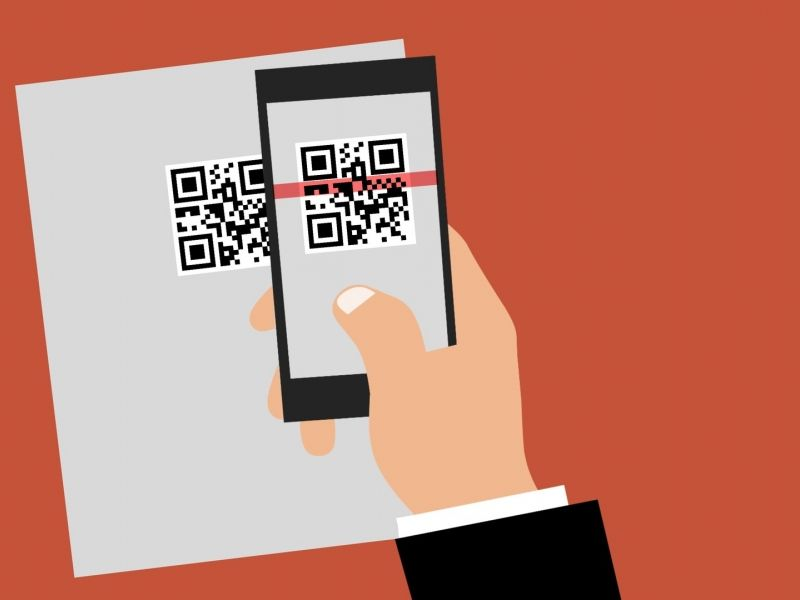 At this way you could make the difference with QR codes!